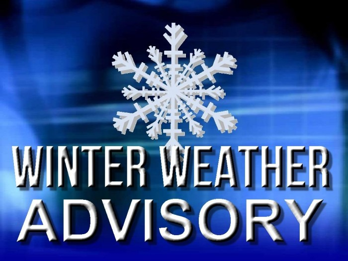Winter Advisory Updates: December 5, 2013